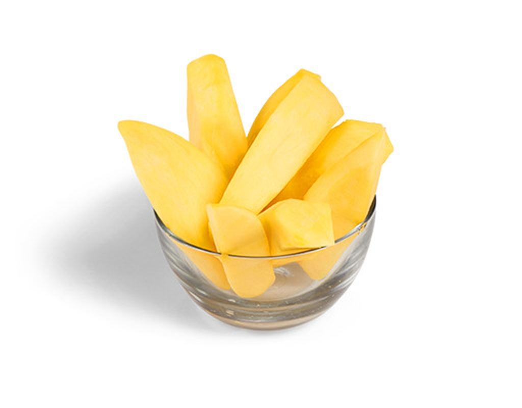 how to cut mango slices