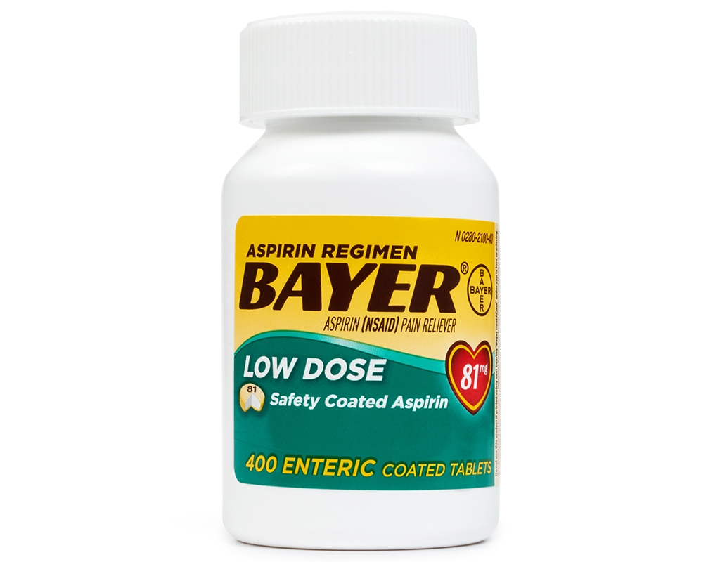 Boxed.com : Bayer Low Dose Aspirin 400 Tablets - 81mg