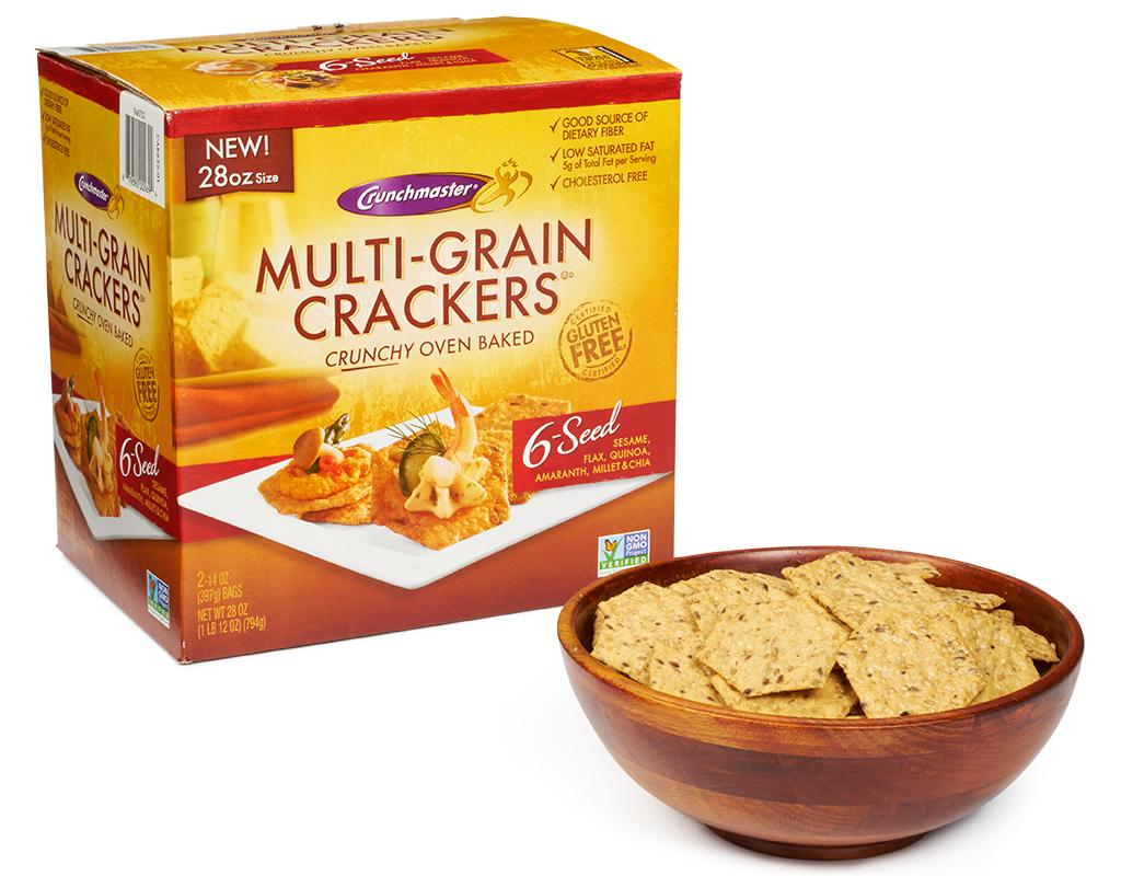 Boxed Com Crunchmaster Multi Grain Crackers 28 Oz