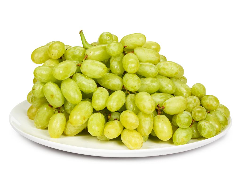 Green seedless table grapes 4 lbs for Table grapes