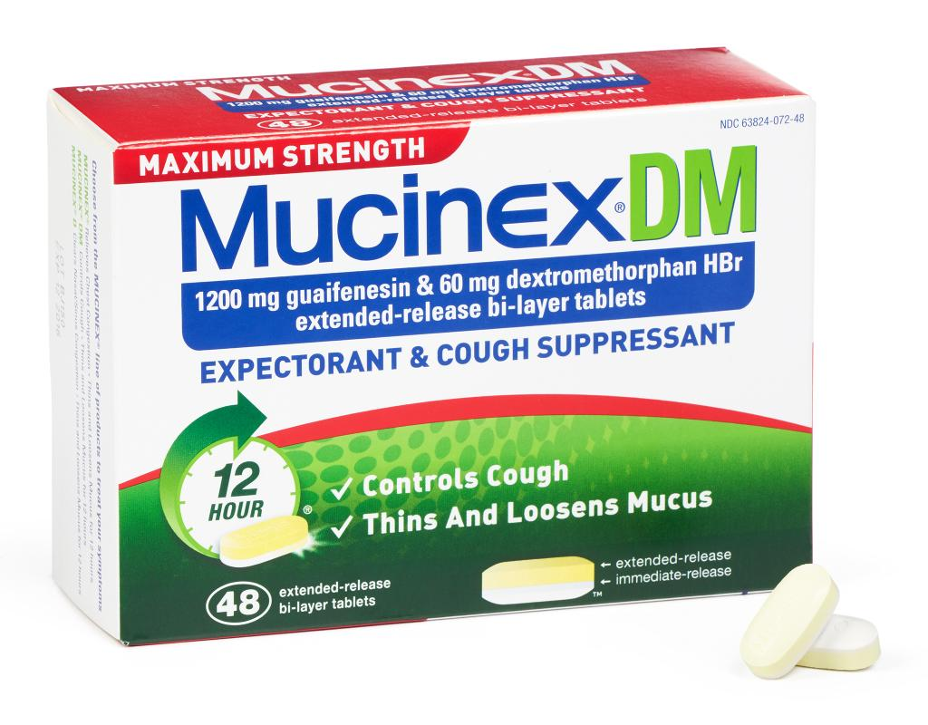 Mucinex Se Powers Through Chest Congestion When you're sick, excess mucus may be bothering you and causing chest congestion. Mucinex extended-release tablets break up the mucus that causes chest congestion, providing you with fast-acting and long-lasting relief.