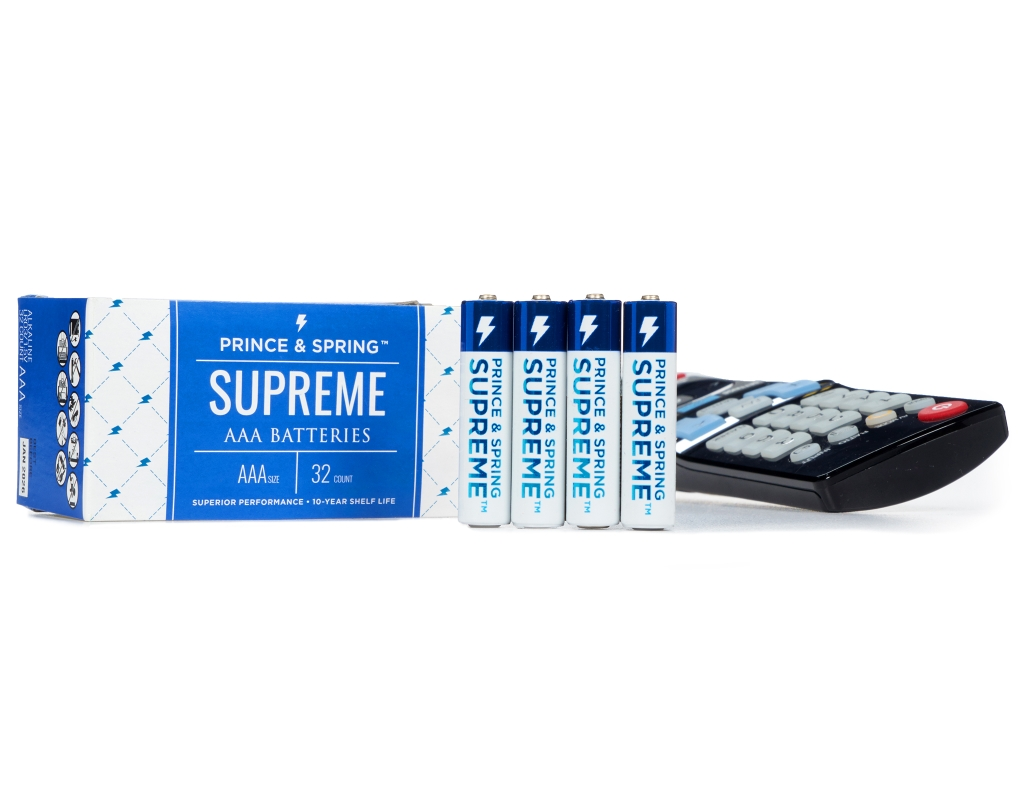 Boxed Com Prince Amp Spring Aaa Supreme Batteries 32 Count