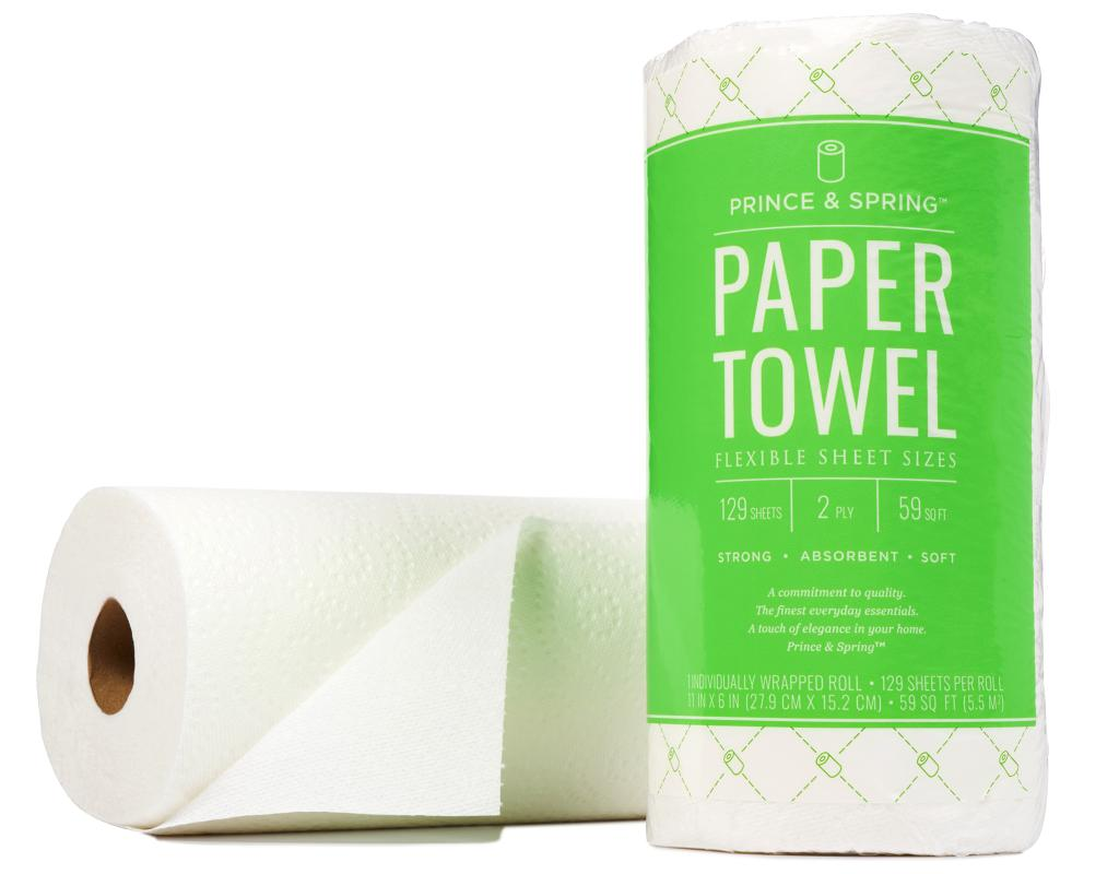 prince spring paper towels wholesale paper products bulk groceries boxed. Black Bedroom Furniture Sets. Home Design Ideas