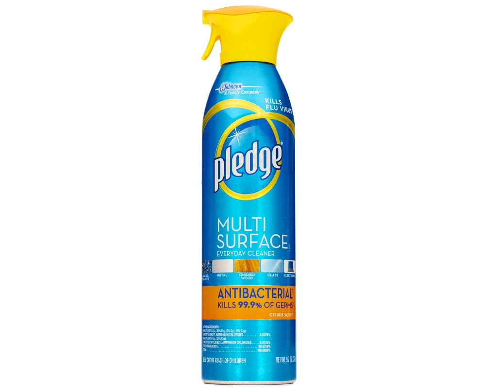 Pledge Furniture And Multi Surface Spray 3 X 13 8 Oz Lemon Clean Multisurface
