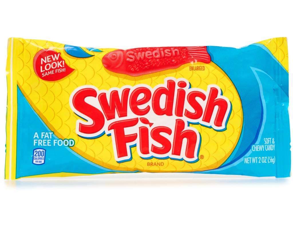 Swedish fish 24 x 2 oz bags for Who makes swedish fish