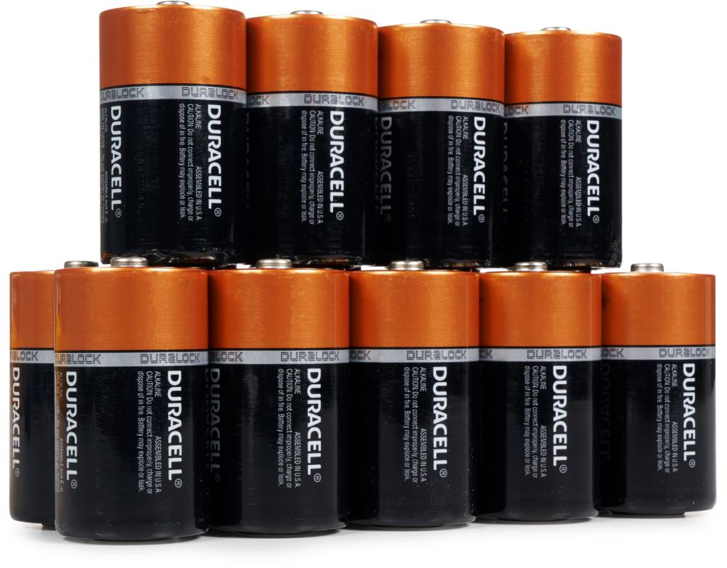 Boxed Com Duracell D Batteries 14 Count