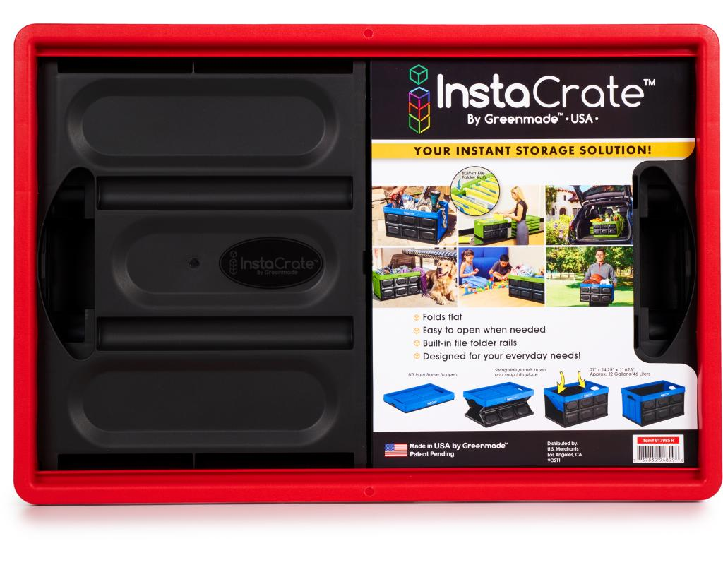 Boxed.com : Greenmade InstaCrate Instant Storage Solution