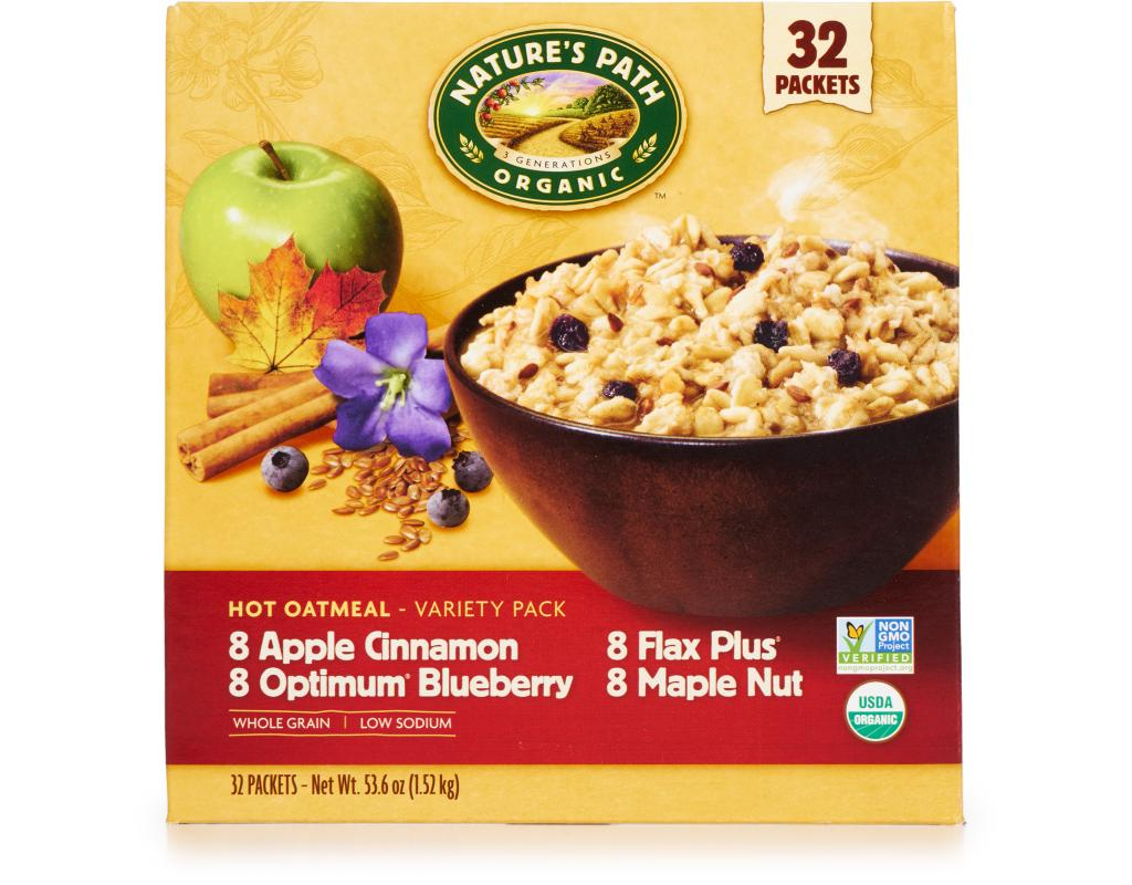 Natures Path Organic Hot Oatmeal Variety Pack  Packets