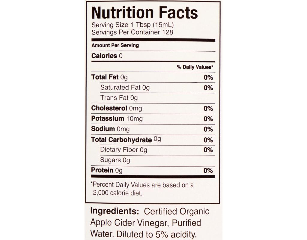 Whole Foods Ketchup Nutrition Facts