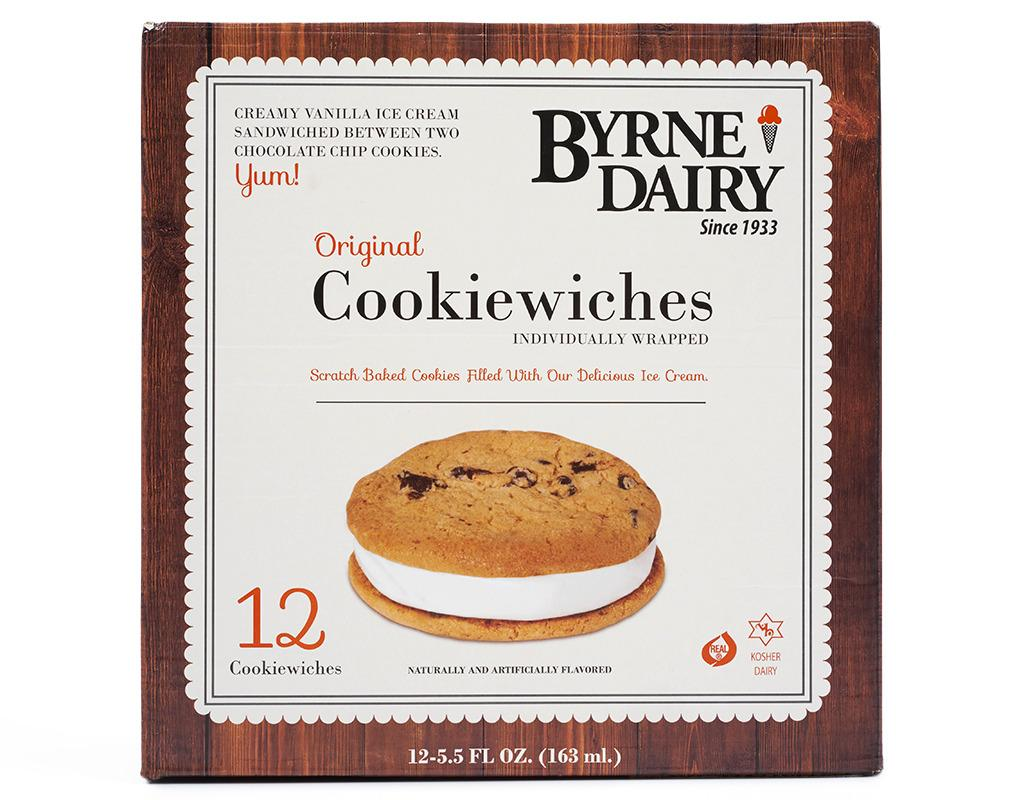 Byrne Dairy Cookiewiches 12 Pieces Boxed