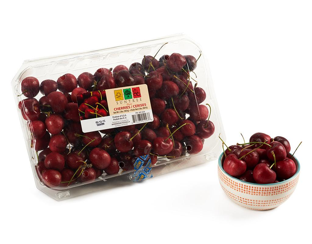 Sweet Red Cherries 2 Lbs