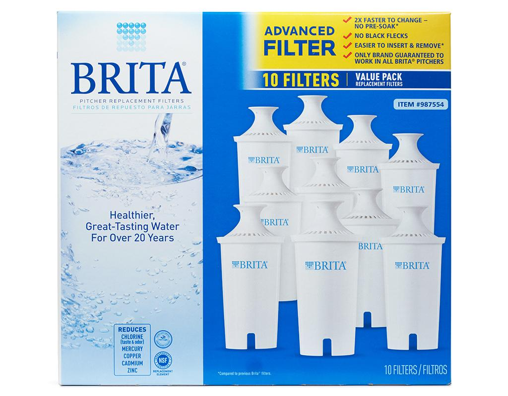 Brita Pitcher Filters 10 Pack Boxed