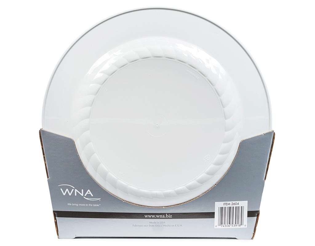 Masterpiece Plastic Plates 50 Count | Boxed