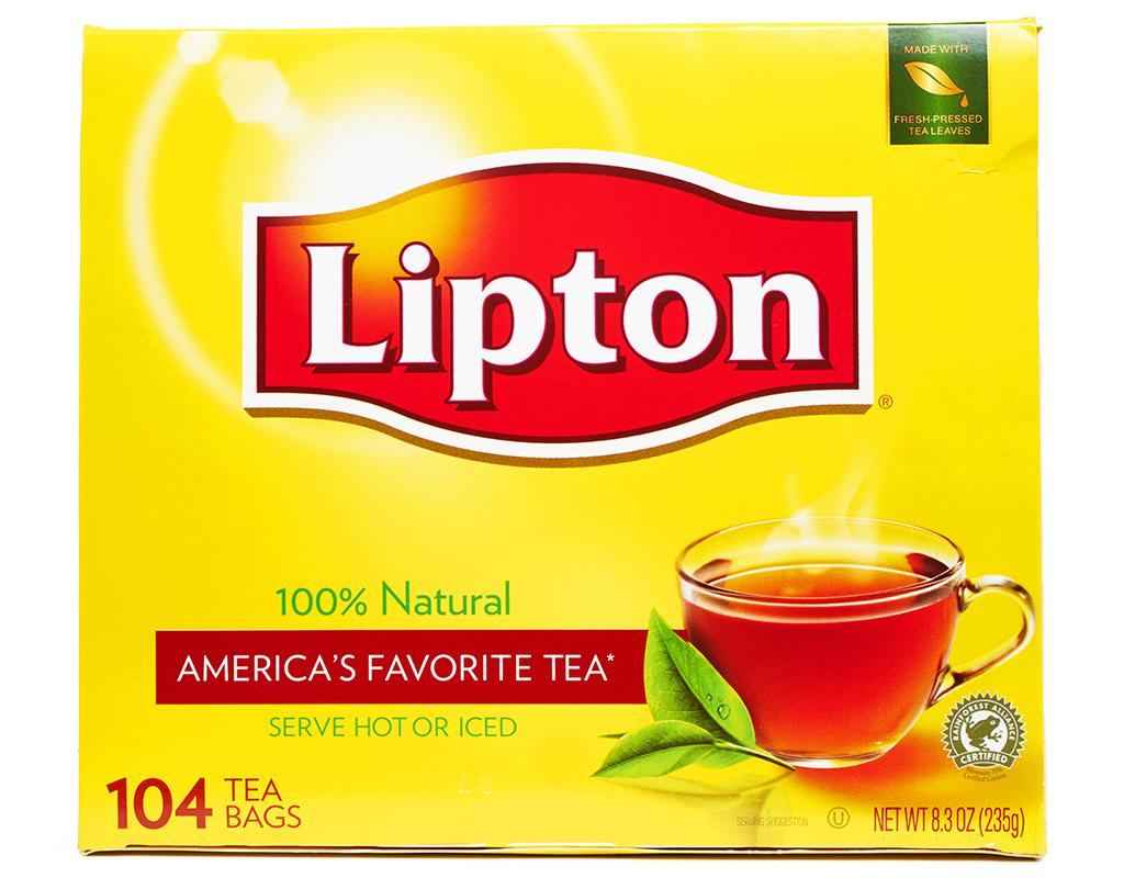 lipton black tea 104 tea bags boxed. Black Bedroom Furniture Sets. Home Design Ideas