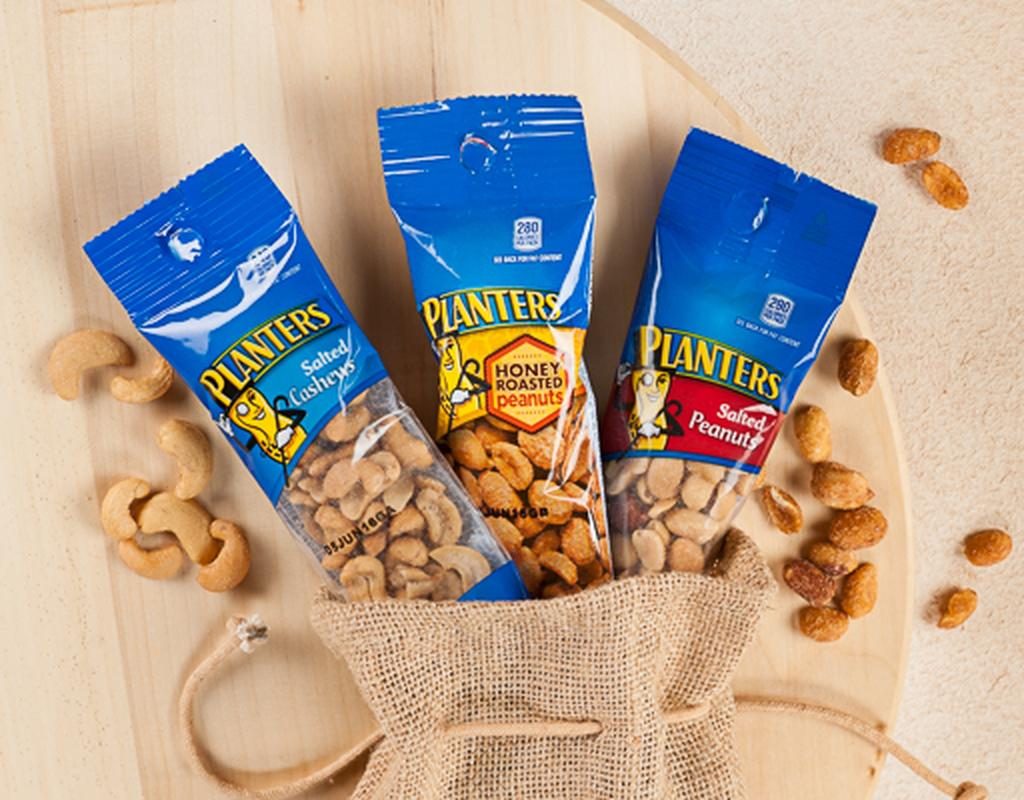 Planters Nuts 24 Bags - Variety Pack | Boxed on planters honey roasted peanuts, planters peanuts variety, planters peanuts individually wrapped, blue diamond nuts pack, planters nutrition pack, planters heat peanuts, peanut planter pack,