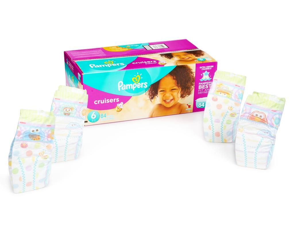 Pampers Cruisers 84 Diapers Size 6 Boxed