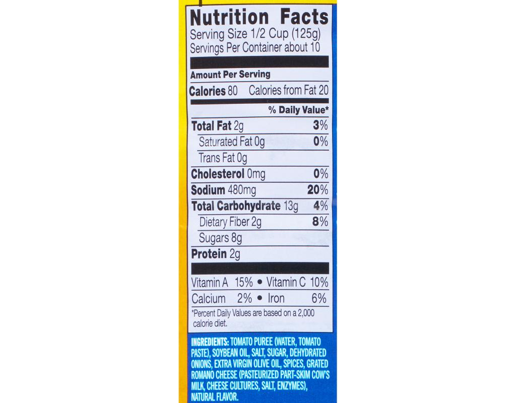 1 2 Cup Skim Milk Nutrition Facts - Nutrition Ftempo
