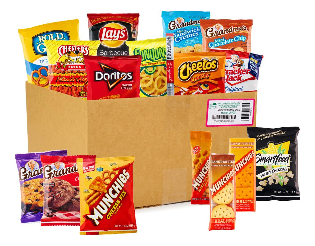 frito lay ultimate snack mix 40 count variety pack boxed
