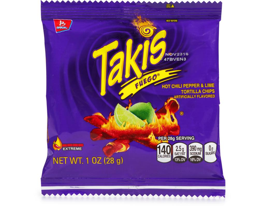 Takis Chips Fuego Nutrition Facts