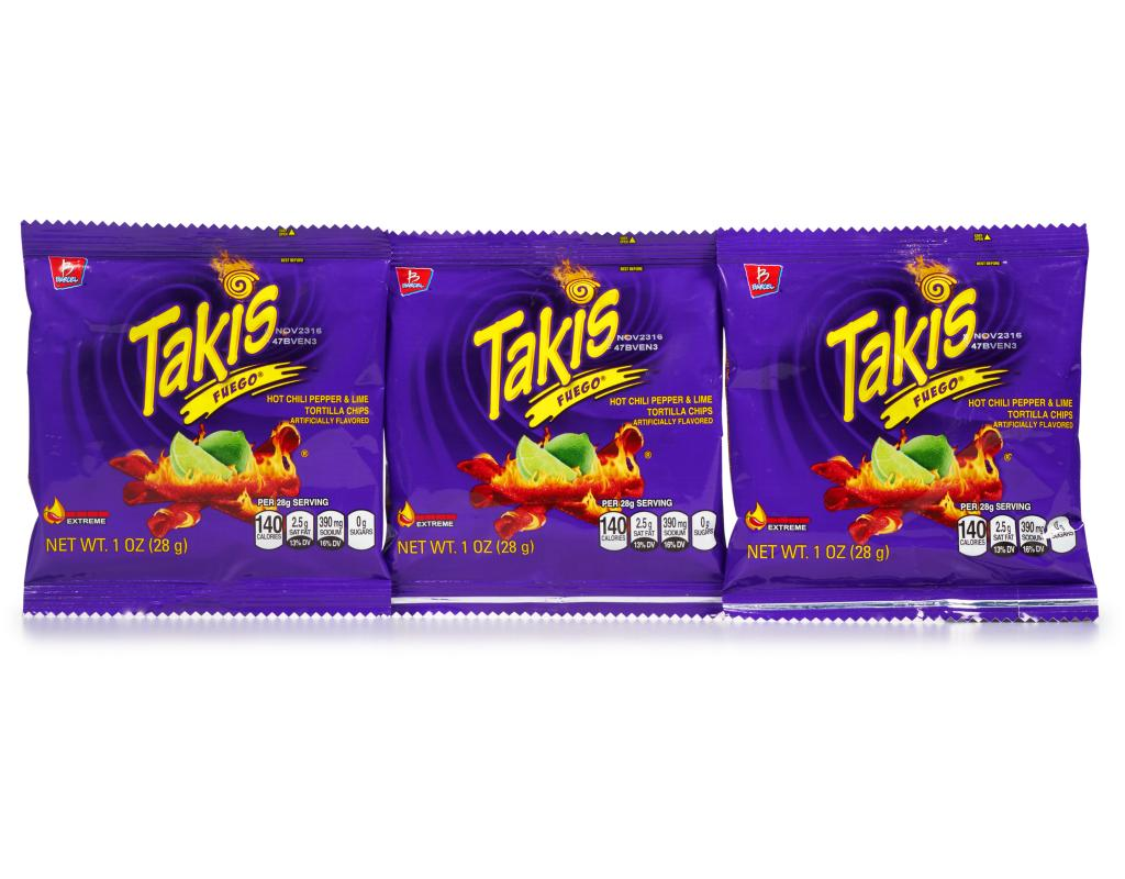Takis Chips Fuego 46 Count Boxed