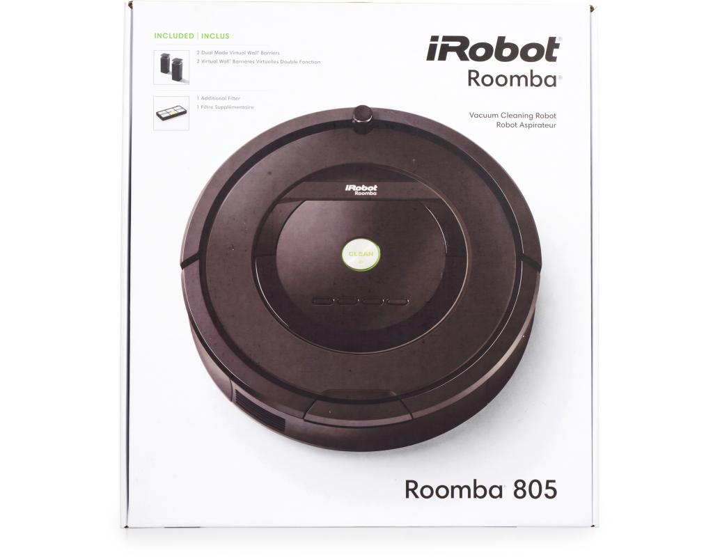 irobot roomba 805 vacuum cleaning robot. Black Bedroom Furniture Sets. Home Design Ideas