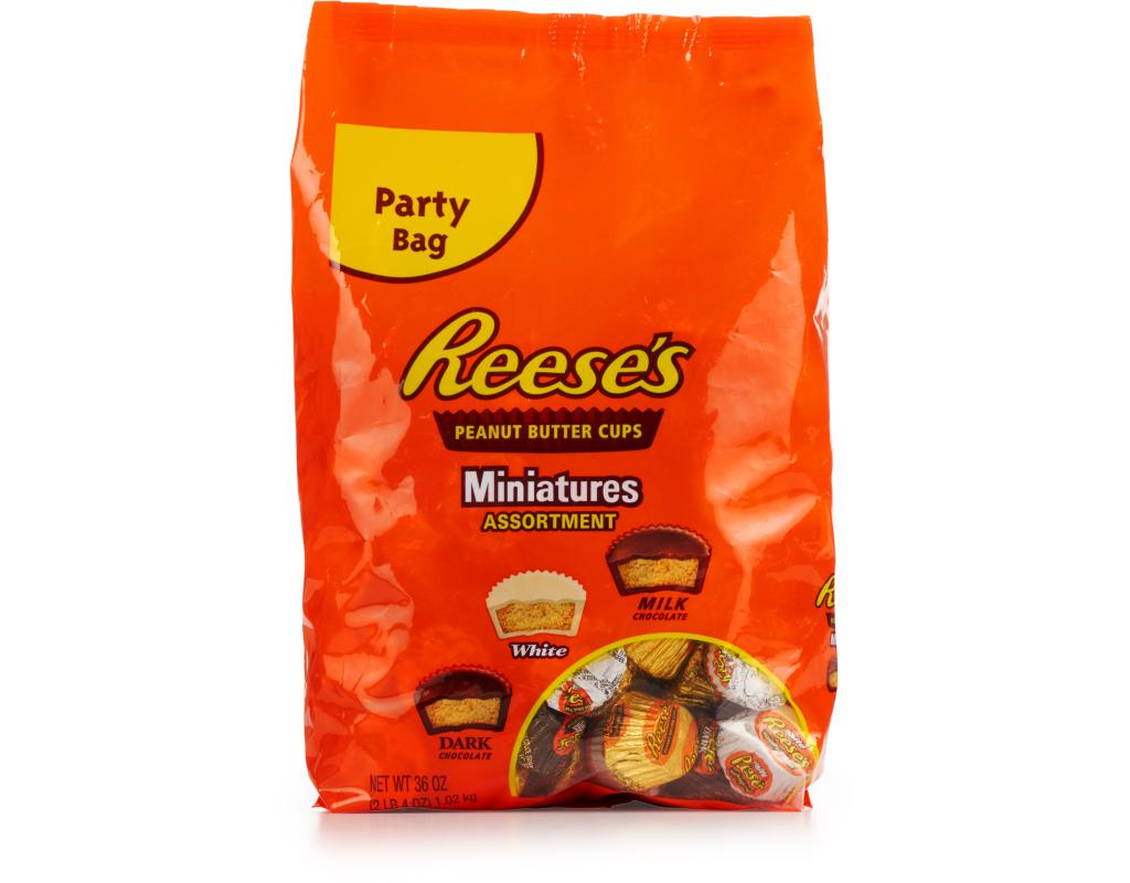 Reeses Peanut Butter Cups 36 Oz Miniatures Assortment Boxed