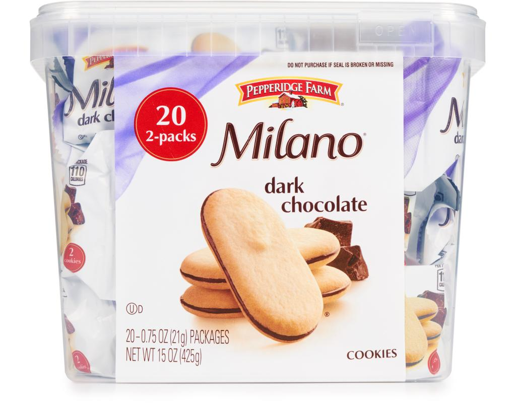 Pepperidge Farm Milano Cookies Wholesale Snacks Delivered Boxed S4le Dove Chocolate Bar 80g Dark Chocolate20 Countin Stock Click Image To Zoom 17108 Customers Love This Item