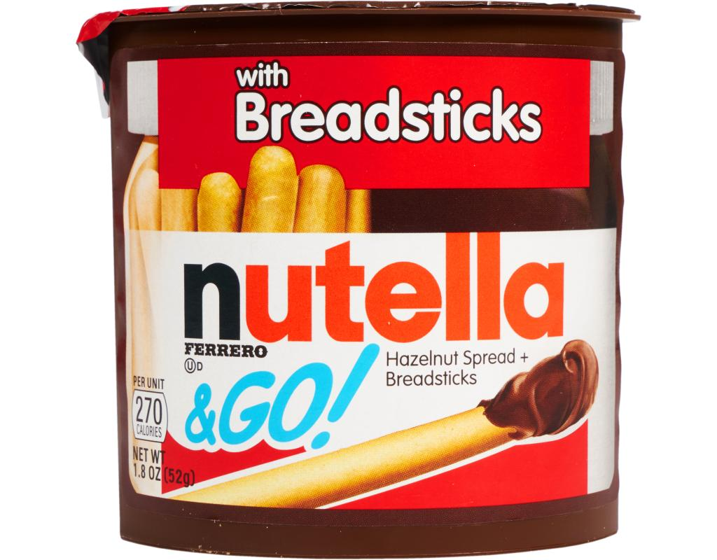 Nutella Snacks To Go Hazelnut Spread Breadsticks Wholesale Box Of 12 Click Image Zoom 13777 Customers Love This Item