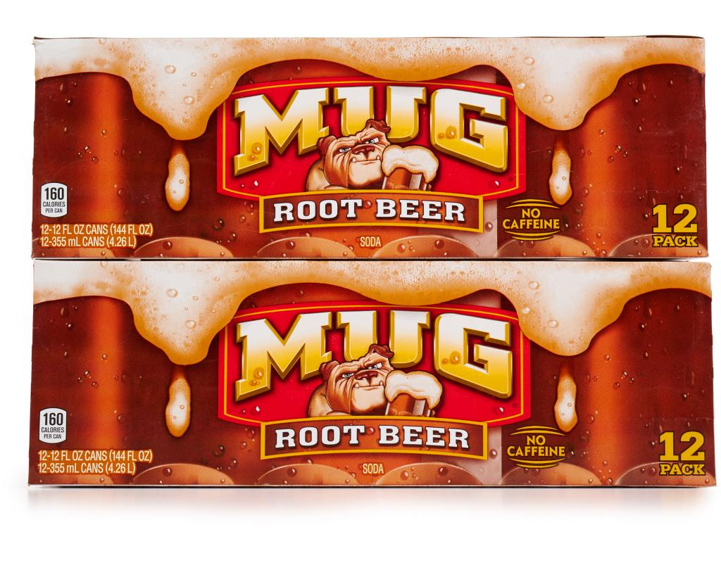Boxed MUG Root Beer 24 X 12 Oz
