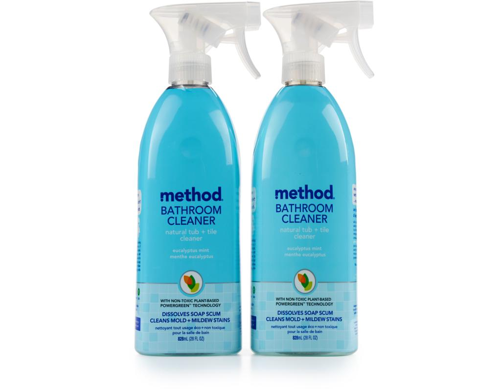Method Daily Shower And Bathroom Cleaner X Oz Natural - Non toxic bathroom cleaner