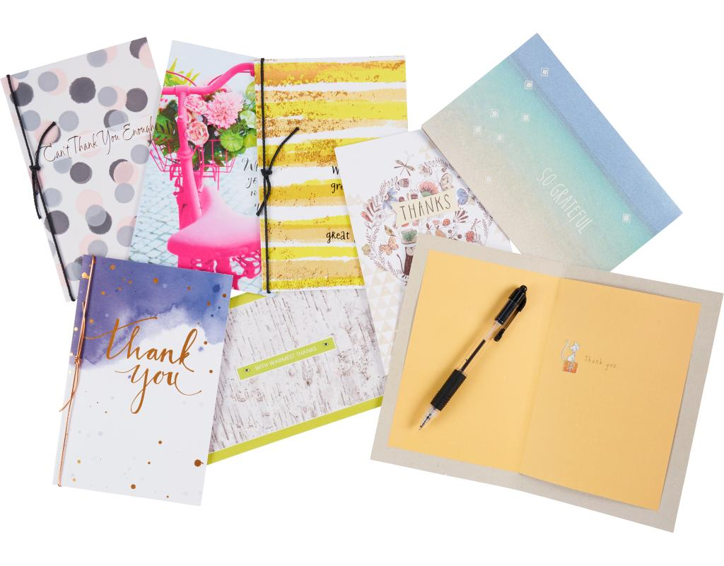 American Greetings Greeting Cards 8 Count Envelopes Boxed