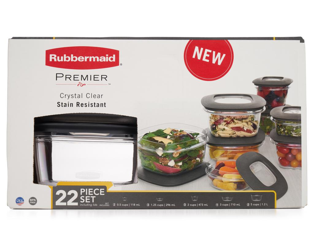 sc 1 st  Boxed & Rubbermaid Premier Food Storage 22 Piece Set | Boxed
