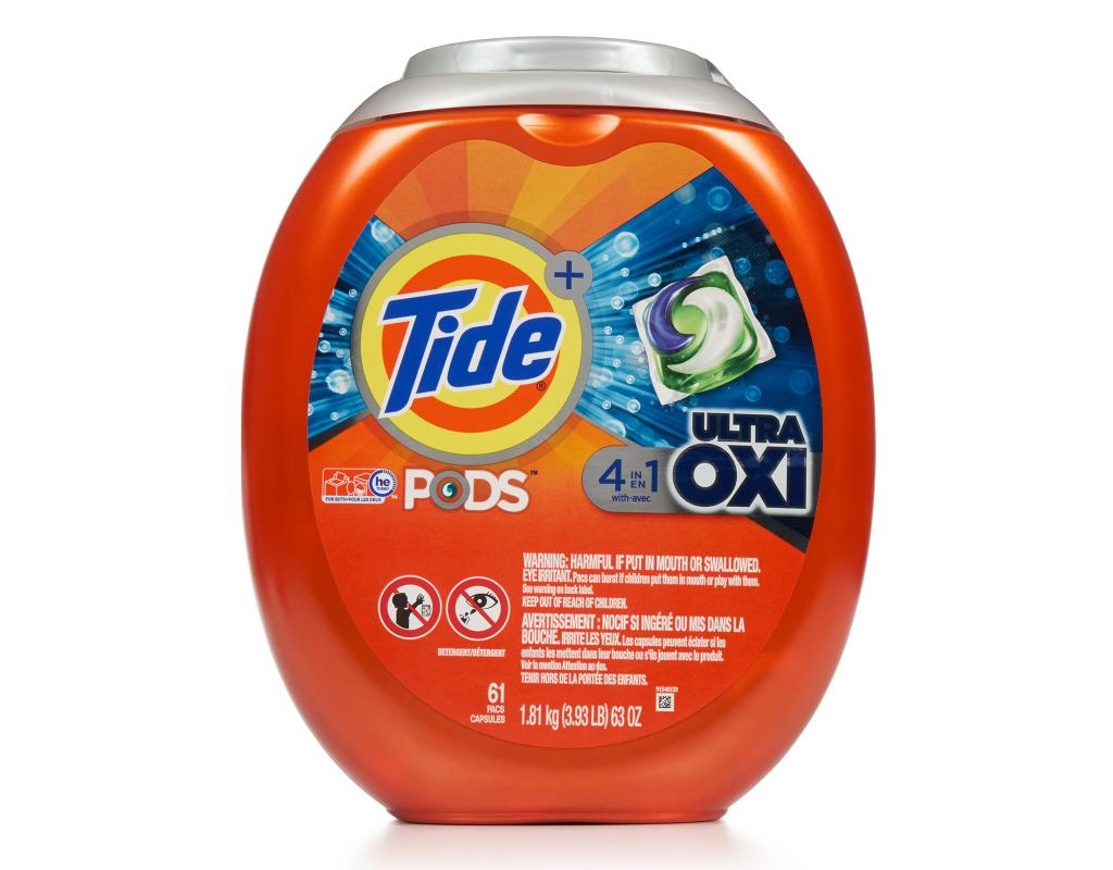 Tide Pods Ultra Oxi 61 Count Boxed