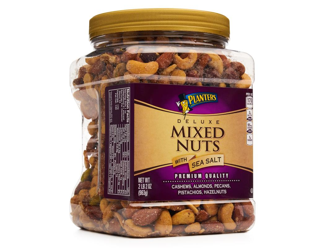 Nutrition News: Planters Mixed Nuts Nutrition
