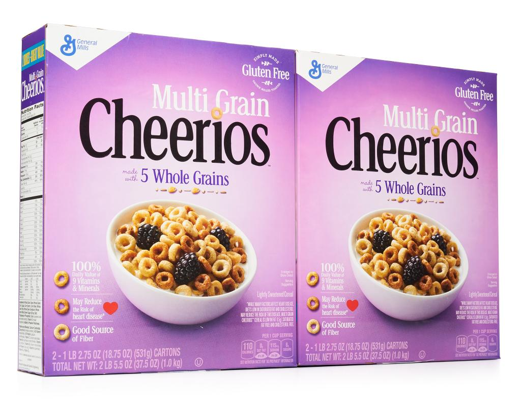 Multi Grain Cheerios 375 Oz 2 Bags Boxed On The Go Pink Cheerio Click Image To Zoom 6874 Customers Love This Item