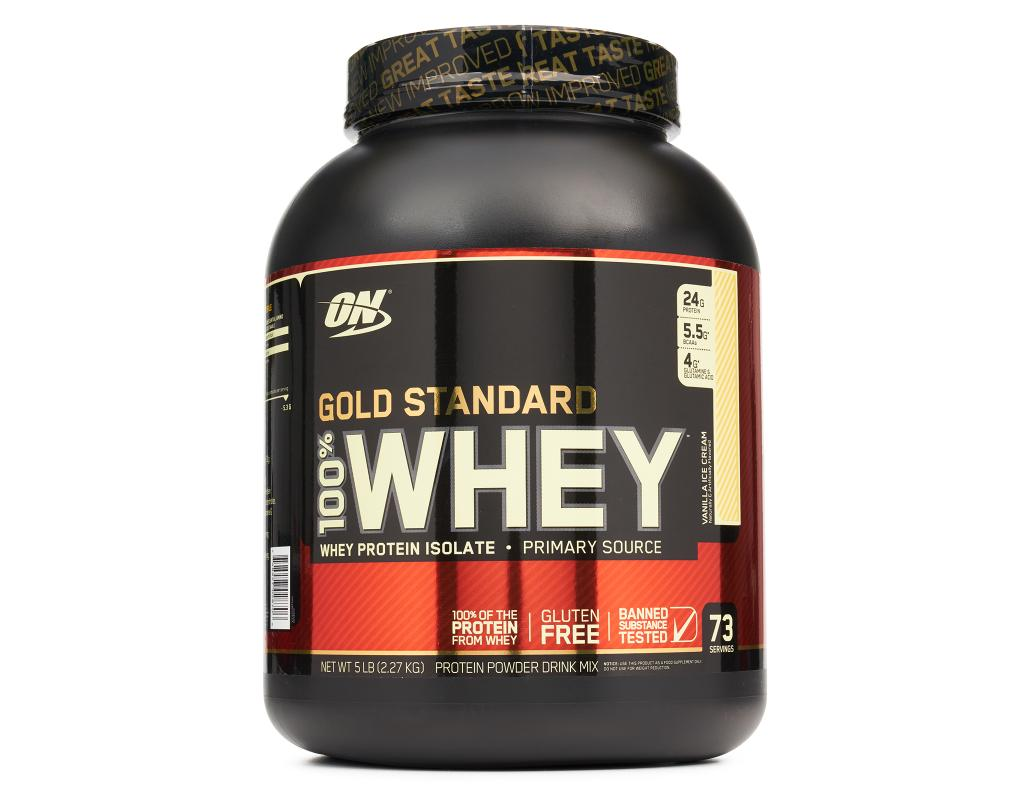 Optimum Nutrition Gold Standard 100% Whey Protein Powder 5 lbs ... 06dc3c673ad