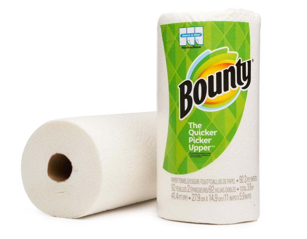 bounty paper towels white bounty select a size 12 count boxed