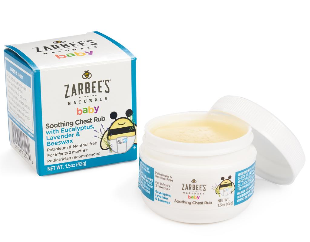 Zarbee S Naturals Baby Soothing Chest Rub 1 5 Oz