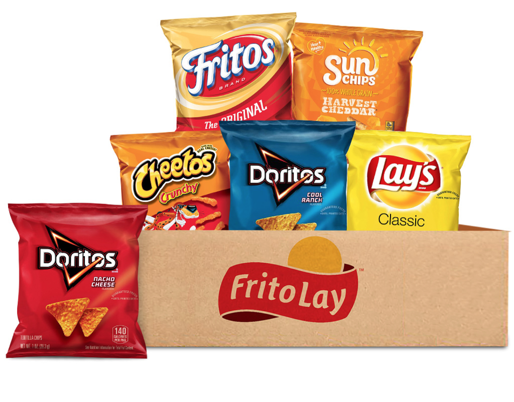 frito-lay classic mix variety pack 40 x 1 oz. | boxed