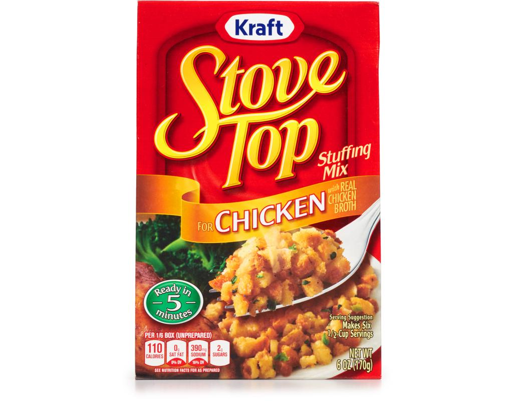 kraft stove top stuffing mix 6 oz chicken boxed