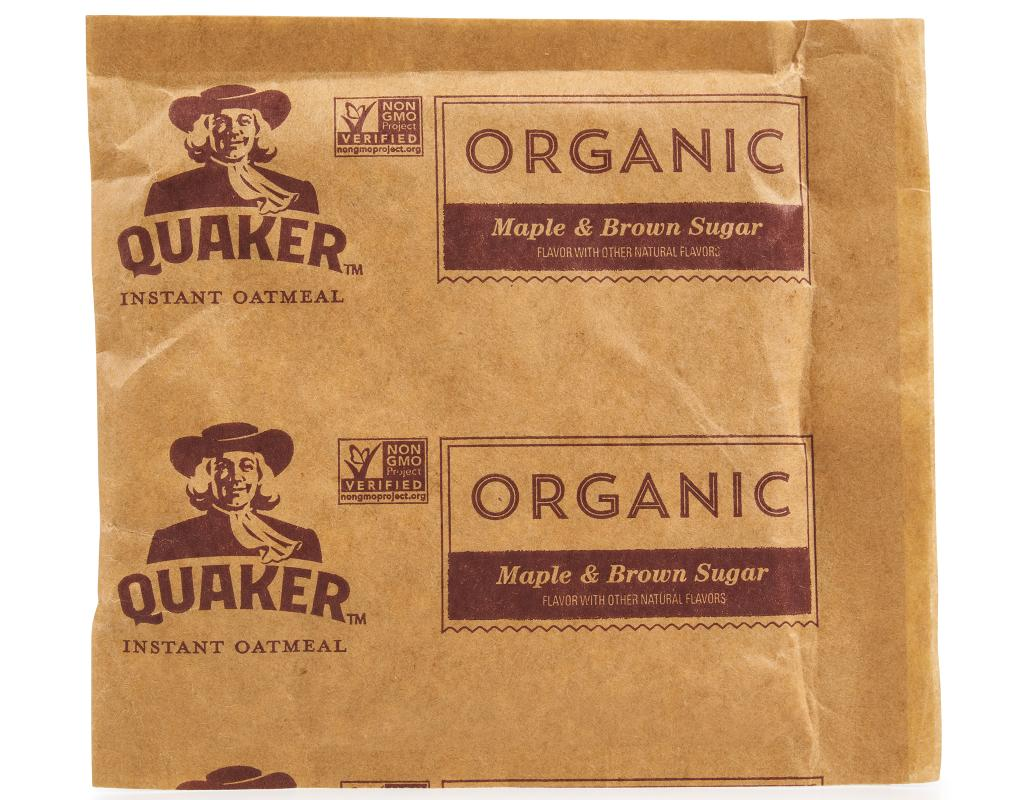 Quaker Organic Instant Oatmeal Variety Pack