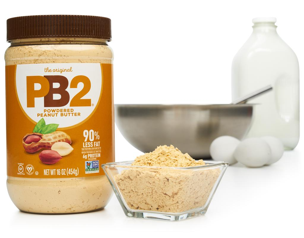 PB2 Powdered Peanut Butter 16 oz. - All Natural   Boxed