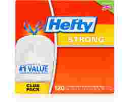 Hefty - Strong Drawstring Trash Bags