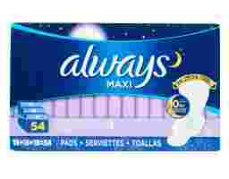Always - Maxi Pad with LeakGuard & FlexiWing