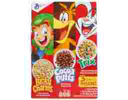 General Mills - Triple Pack Cereal Box