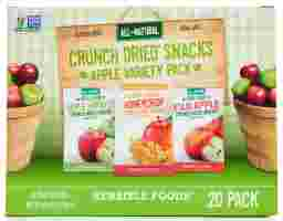 Sensible Foods - Crunch Dried Snacks Apple Variety Pack