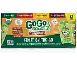 GoGo squeeZ - Organic Fruit On The Go