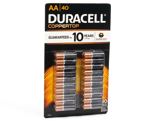 Boxed Com Duracell Aa Batteries 40 Pack