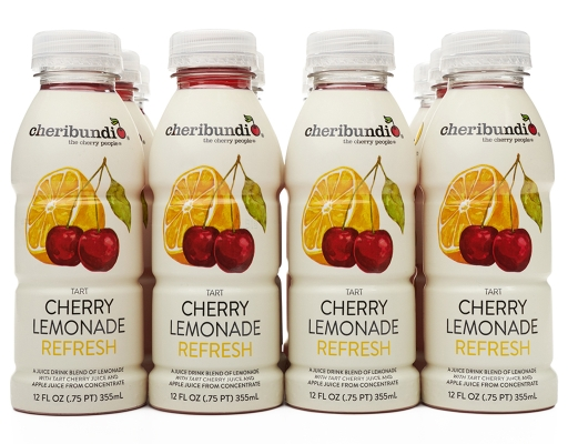 Boxed.com : Cheribundi Tart Cherry Lemonade 12 x 12 oz. - Refresh
