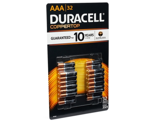 Boxed Com Duracell Aaa Batteries 32 Count